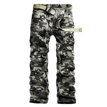 2016 hombres Pantalones camuflaje táctico Pantalones Militar Pantalones  caqui Outwear cargo ejército verde masculinos Monos casual Pantalones pa038 5cfe2adf4a0