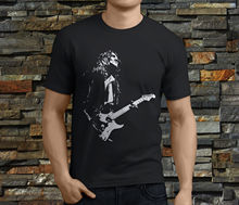 John Frusciante Red Hot Chili Peppers Guitarist Mens Black T-Shirt Size S-3XL Tee Shirts Hipster O-Neck Cool T-Shirts Designs