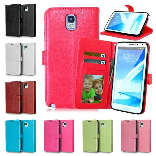 Flip Case for Samsung Galaxy Note 3 Note3 SM N900 SM-N900 N9000 N9008S SM-N9008S N9009 SM-N9009 Photo Frame Phone Leather Cover