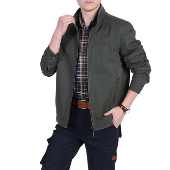 Brand Jacket Men Coat Military Jacket Coat Men Solid Fitness Cotton Men's Jackets Jaqueta Masculina L-5XL Chaquetas Hombre