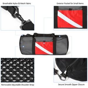Image 5 - Mesh Duffel Gear Bag Snorkel Equipment Carry Bag for Mask Snorkel Fins Scuba Diving Surfing Gear Fitness sports Gym bag Unisex