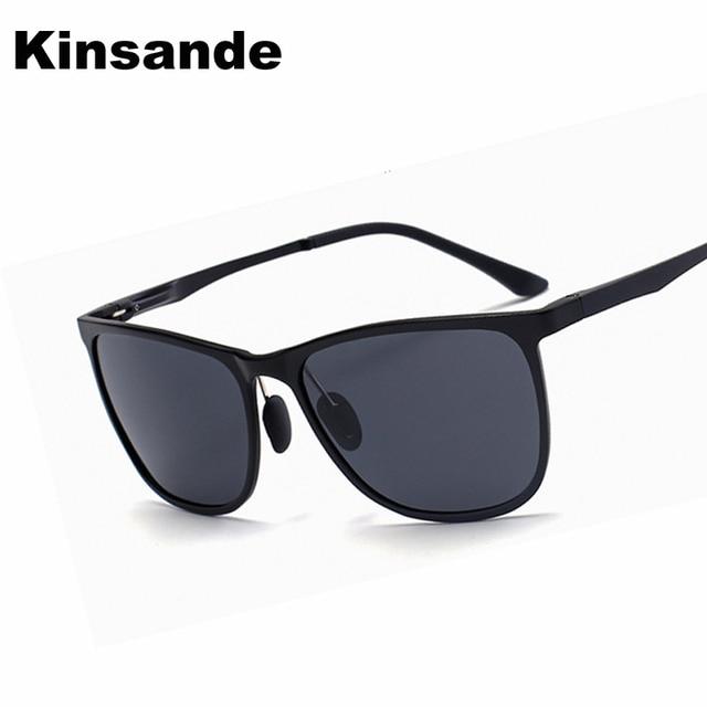 a3eba5428 Aluminum Men's Polarized Sunglasses Square Driving Eyewear Brand Designer  Male vintage Sun Glasses gafas oculos de