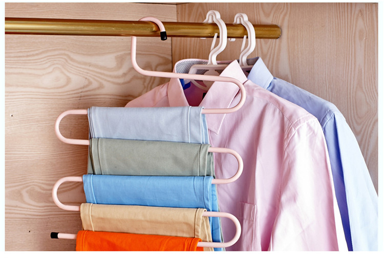 S стиль многофункциональная одежда сушилка для одежды брюки стойки вешалки Держатели для Многофункциональные вешалки Полотенца