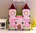 Tamanho grande DIY Simples sapato rack de pano criativo moderno multi-purpose bebê armário de armazenamento móveis para casa sala de estar decoração
