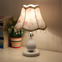 E27 European bedroom small table lamp modern dimmable LED energy saving feeding bedside lamp, adjustable Night light