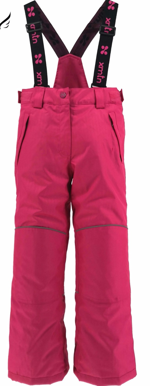 XMT warmth thickening boys and girls ski pants windproof waterproof outdoor ski suit winter warm