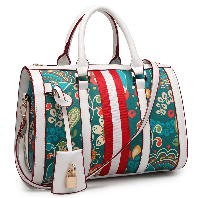 Challen Brand High quality PU Women Tote Bags Printing Bags for Ladies Luxury Women Handbags Leather