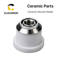 Cloudray OEM Ceramic Nozzle Holder D41 H34 for Fiber Laser Cutting Head