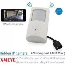 XMEYE 720 P ПИР Стиль Крытый Onvif Wi-Fi Ip-камера Встроенный Аудио и Слотом Для Карт TF, ИК Версия Опционально с 48 шт. 940nm ИК-ПОДСВЕТКОЙ