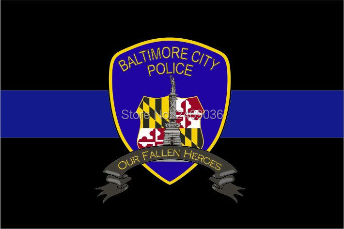 Baltimore Police Our Fallen Heroes Flag In Flags Banners