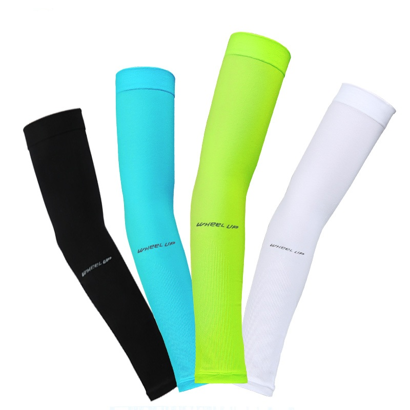 US Cooling Arm Sleeves Cover Cycling UV Sun Protection Outdoor Sports Oversleeve