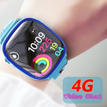 4G GPS+LBS+Wifi Positioning Tracker Swimming Call Remote Monitoring Video Chat Camera Phone Watch Smartwatch Kids Child(China)