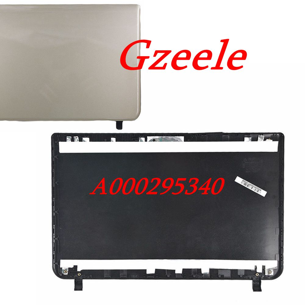 GZEELE New LCD Back <font><b>Cover</b></font> Lid For <font><b>TOSHIBA</b></font> SATELLITE L55-B <font><b>L50</b></font>-B LCD Lid BACK <font><b>COVER</b></font> A000295340 EABLI00104 image