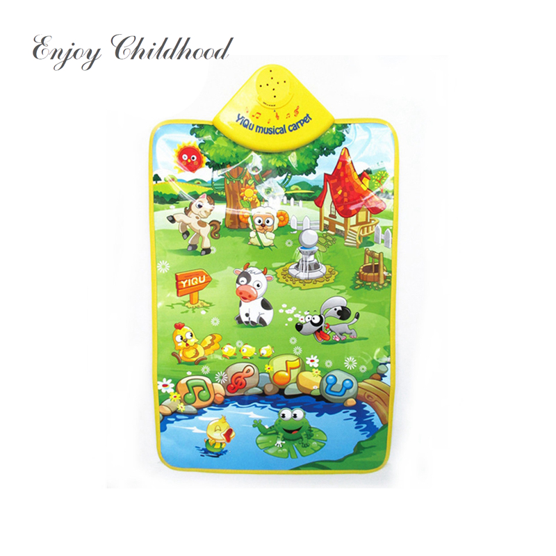 Kids Vocal Toy Learning Electronic Baby Music Toy Children Educational Animals Phonetic Chart Early Language Toy
