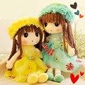 Tamanho grande brinquedo de Pelúcia Brinquedos De Pelúcia Linda Flor Dos Desenhos Animados de Fadas Crianças Boneca Brinquedos para Meninas Presente de Natal Aniversário de Boneca Da Moda