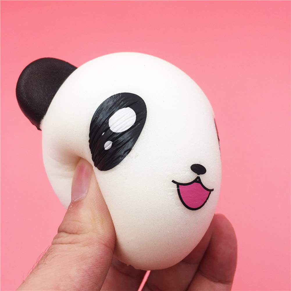 Pattern Random!!! 2017 New Arrival Baby/Adult Squeeze Jumbo Stress Reliever Soft Cute Panda Scented Slow Rising Toys Gifts