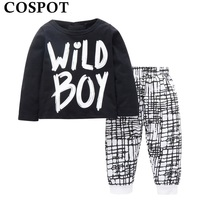 Seartist 2018 Baby Boys Clothes Children Clothing Set Spring Kids Suit Toddler 2Pcs T Shirt Pants