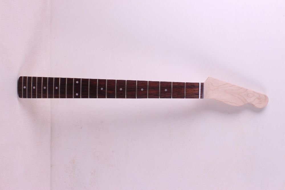 One electric guitar Neck New Solid wood 25.5'' 2 fret  rose  wood Fretboard 02 # no hold 1x electric guitar neck rosewood fretboard truss rod 24 fret 25 5 new