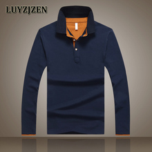 Brand Polo Shirt Men 2017 New Arrival Men s Long Sleeve Polos Spring Autumn Male Casual