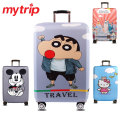 Cute Cartoon Thick Elastic Travel Luggage Protective Covers For 18-32 Inch Trolley Case Suitcase Cover