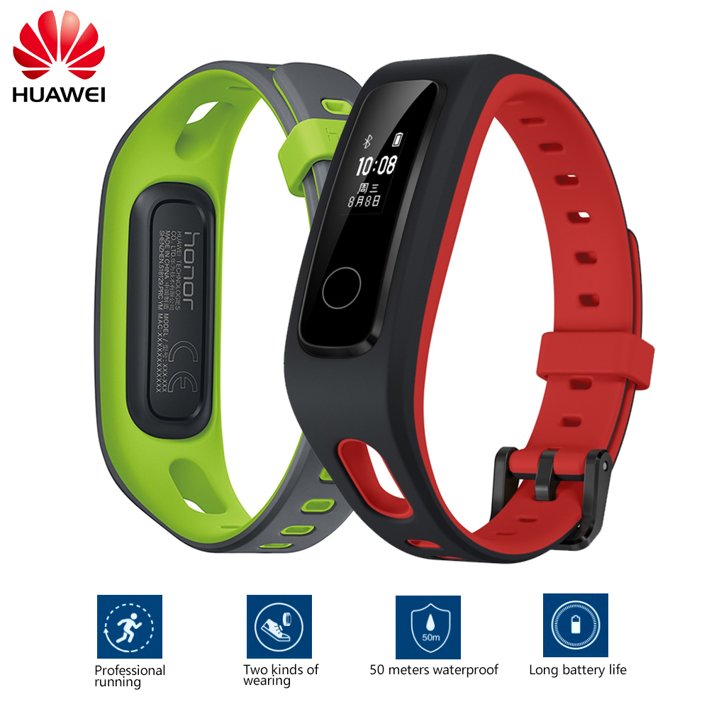 2018 New Gift Huawei Honor Band 4 Running Version Shoe-Buckle Land Impact Waterproof Wristband Sleep Snap Monitor Honor band 4 huawei honor v8 knt al10 5 7inch emui 4 1 smartphone rose gold