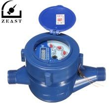 Маленький размер 15 мм пластиковый ротор тип холодной воды стол Сад домашний измеритель воды