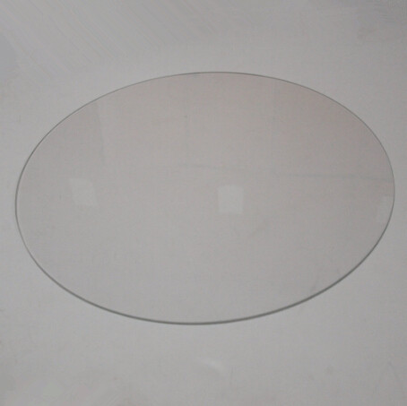 3 D printer parts Delta Kossel Print Table Glass plate for heated bed High boron silicon glass plate diameter: 350 mm 3 mm thick