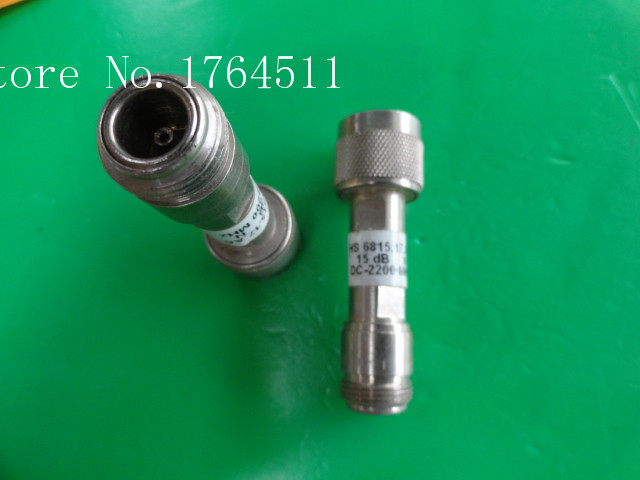 [BELLA] H+S 6815.17.AC DC-4GHz 15dB 2W N Coaxial Fixed Attenuator