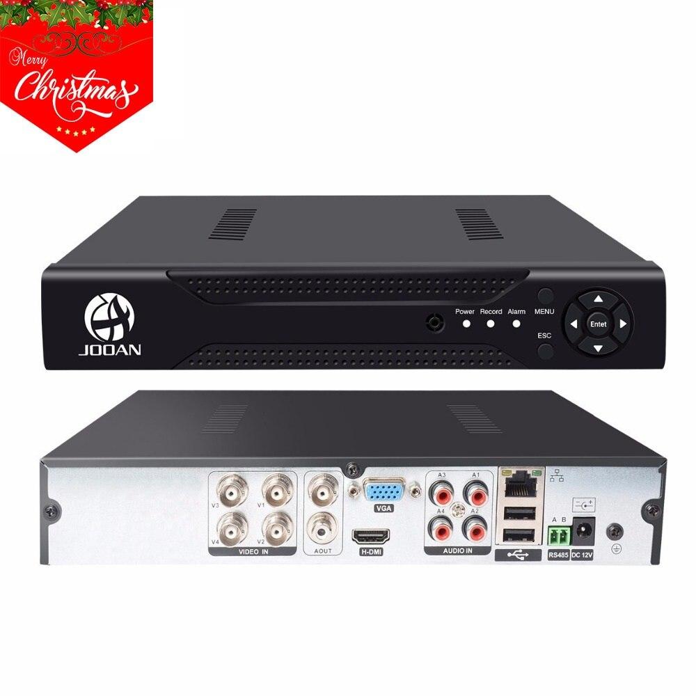 4CH AHD DVR CCTV Video Recorder Für Secuirty Kamera P2P H.264 1080 p Ausgang 4 Kanal Video Überwachung DVR NVR HDMI CVBS Onvif