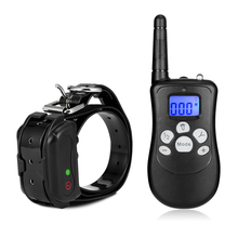 Перезаряжаемый водонепроницаемый ошейник для дрессировки собак 150 м Пульт дистанционного управления с ЖК-дисплеем для дрессировки собак принадлежности для собак Z30