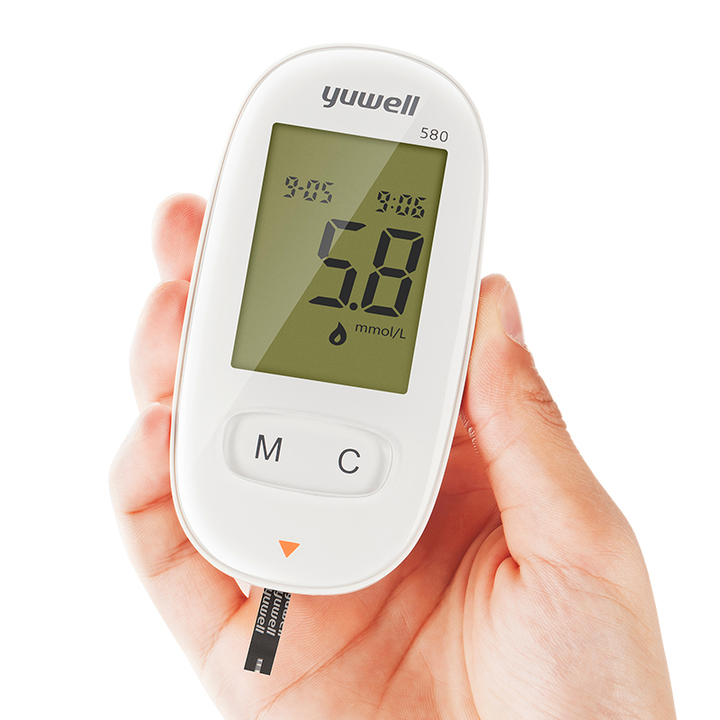 Yuwell Blood Glucose Meter Diabetic Blood Sugar Detection Glucose Meter Household Health Care Monitors Tool XTY580Yuwell Blood Glucose Meter Diabetic Blood Sugar Detection Glucose Meter Household Health Care Monitors Tool XTY580