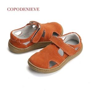 Image 4 - COPODENIEVE dziecięce sandały chłopięce chłopięce sandały maluch sandały dziecięce sandały dziewczęce buty dla małego dziecka chłopcy dziewczęta oryginalne skórzane buty