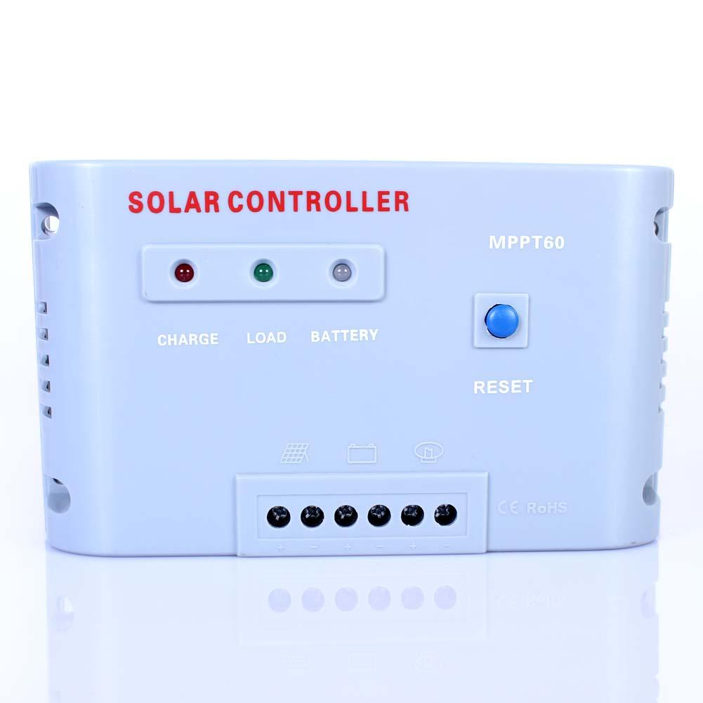 2015 MPPT Solar Regulator Charge Controller 12V 24V Autoswitch Solar Panel 60A 1500W