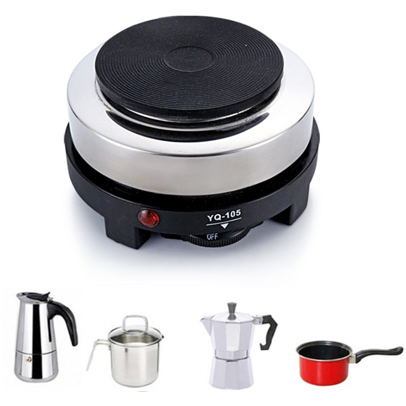 500W Mini Electric Heater Stove Hot Cooker Plate Milk Water Coffee Heating Furnace Multifunctional Kitchen Appliance EU Plug