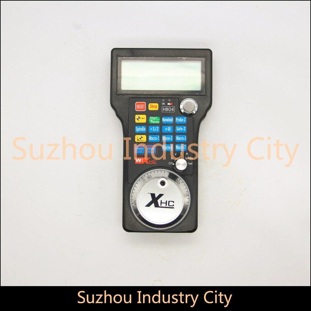 USB CNC Mach3 kontroler CNC USB MPG wisiorek dla Mach3 4 osi grawerowanie CNC kontroler bezprzewodowy