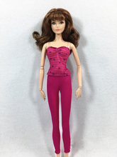 New styles Festival Gifts Top trousers lifestyle Suit Casual Clothes Trousers Dress For Barbie Doll 1