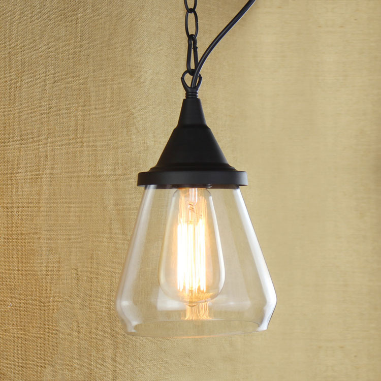IWHD Iron Hanglamp LED Pendant Light Style Loft Industrial Lighting Vintage Retro Hanging Lamp Home Lighting Iluminacion new loft vintage iron pendant light industrial lighting glass guard design bar cafe restaurant cage pendant lamp hanging lights