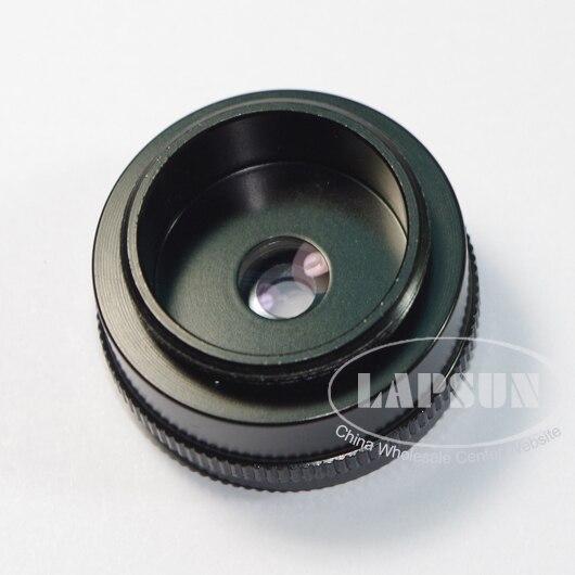 2 x Mini lente auxiliar Barlow para la industria Industrial microscopio Cámara C-MOUNT lente para inspección microscopio ESTÉREO