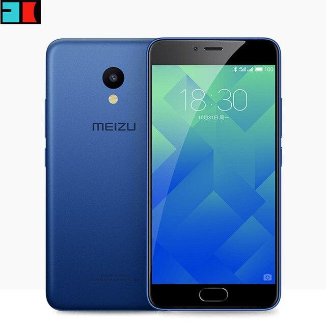 """Оригинал Meizu M5 Глобальной Прошивки 4 Г LTE Сотового Телефона 2.5D Стекло MT6750 Octa Ядро 5.2 """"3 ГБ RAM 32 ГБ ROM 13MP 4 Г LTE Отпечатков Пальцев"""