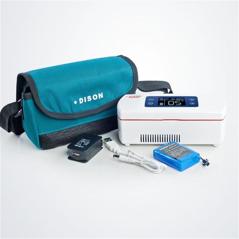 Insulin Fridge.Car Mini Refrigerator.Portable Travel Insulin Storage Box.Insulin Cooler Bag.Interferon Insulin Pen Storage
