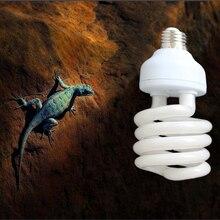 Рептилия компактная люминесцентная лампа для вивария светильник 110v 220v 10,0 УФ-в УФ-а УФ 26 Вт 10,0 E27 винт светильник P415