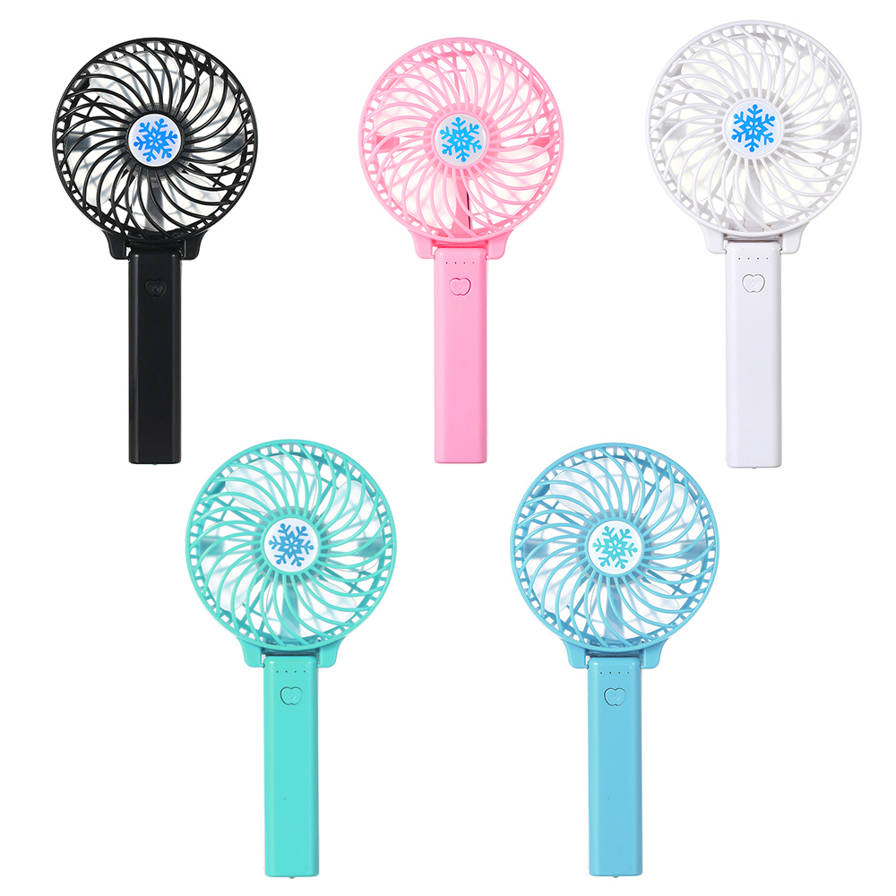 Handheld USB Mini Fan Portable Rechargeable Air Conditioning Fan Foldable Ventilation Fan Air Cooler For Outdoor Home Travel