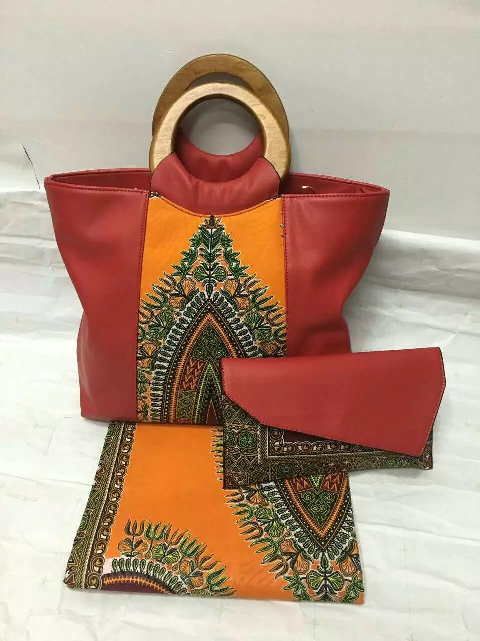42e6ca055ffd Waterproof ankara Wax tissue matching women hand bag African cotton Wax  fabric bag for party or wedding (6 yards tn6d5s8 1-in Fabric from Home    Garden on ...