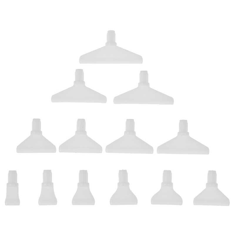 13Pcs Vervanging Borduurwerk Punt Boor Pen Heads Voor 5D Diamant Schilderen Kruissteek Bevestiging Quick Tool Diy Ambachten Levert