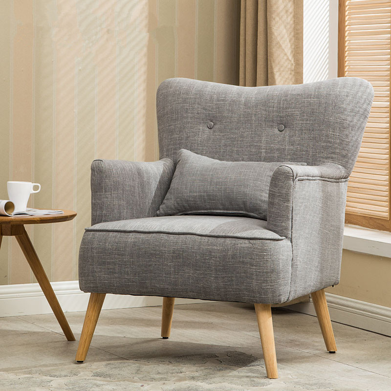 Moderne Sessel Stuhl Holz Bein Home Möbel Wohnzimmer Stühle ...