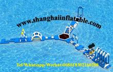water sports games inflatable floating water park