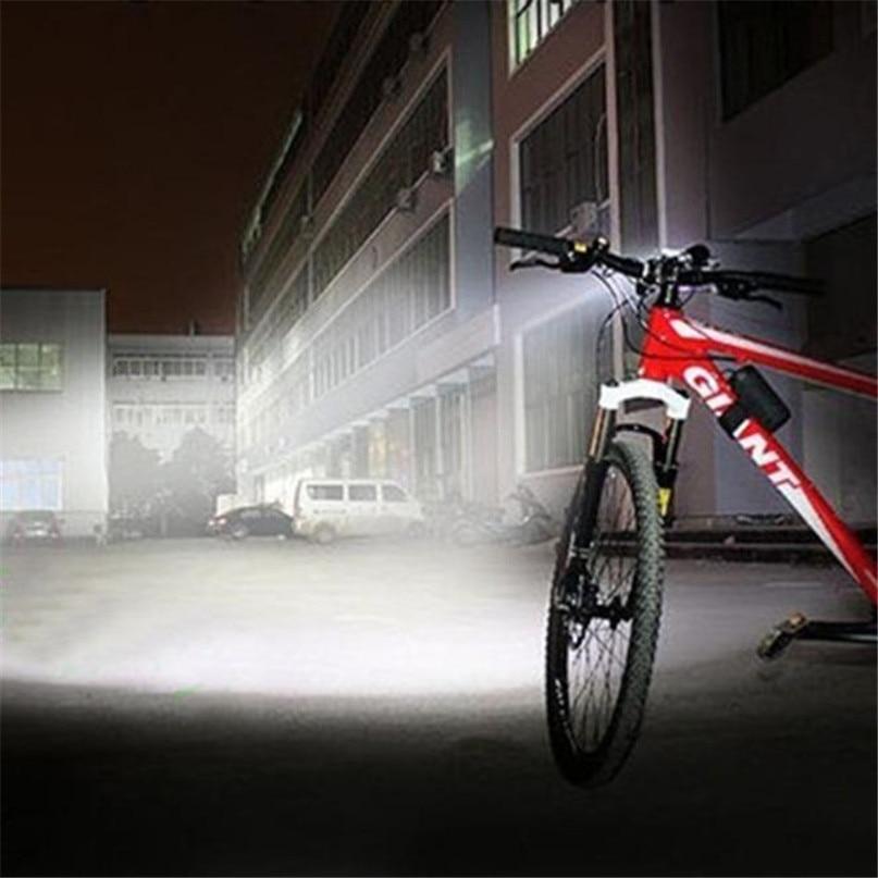 New 28000 Lm 11T6 LED Bicycle lantern bike Headlamp HeadLight Lamp Flashlight Lights 6400mAh battery farol bike light #2A26 (5)