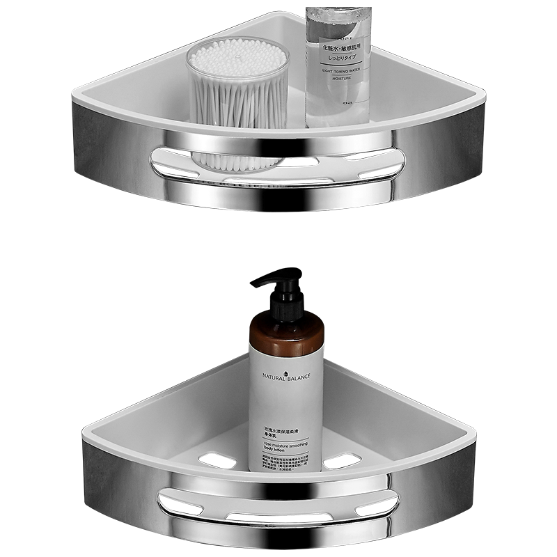 Ванная комната полка, туалетный vanity треугольная полка для ванной всасывания настенного типа не перфорированный настенная вешалка