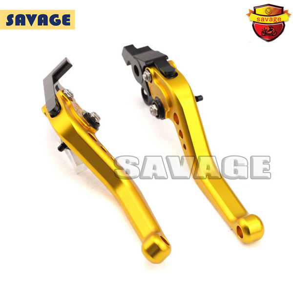 ФОТО For HONDA CB190R 2015-2016 Motorcycle Accessories CNC Billet Aluminum Short Brake Clutch Levers Golden