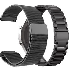 Milans Stainless Strap For Xiaomi Huami Amazfit GTR Pace Stratos 2/2S Smart Watch 22MM Band For Samsung Galaxy Huawei GT Active(China)